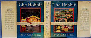 The Hobbit First American Edition Dust Jacket