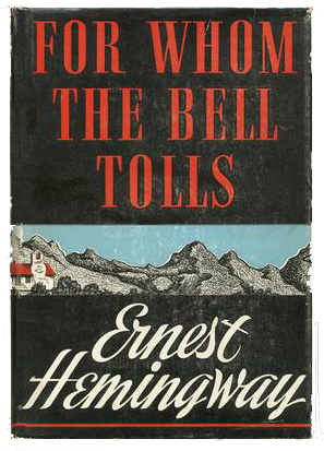 Front Cover of For Whom the Bell Tolls First Edition