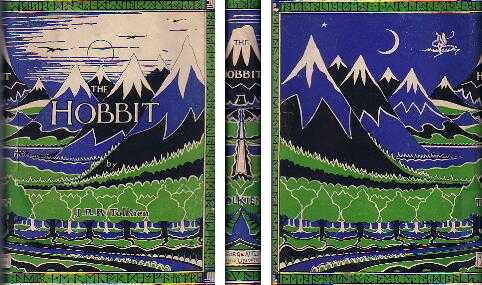 The Hobbit by J.R.R. Tolkien First edition