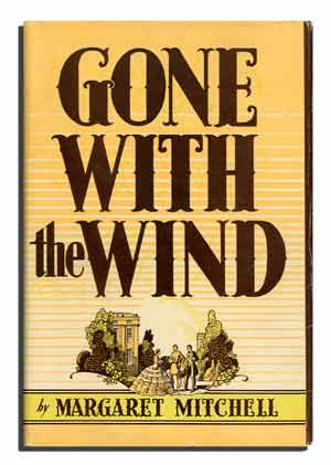Gone with the Wind First Edition Cover