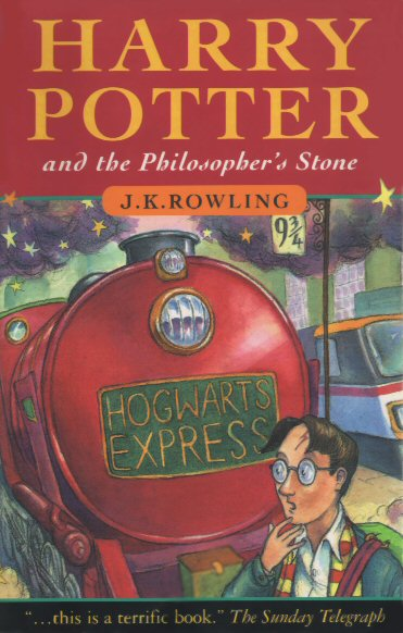 Harry Potter and the Philosopher's Stone First Edition Cover