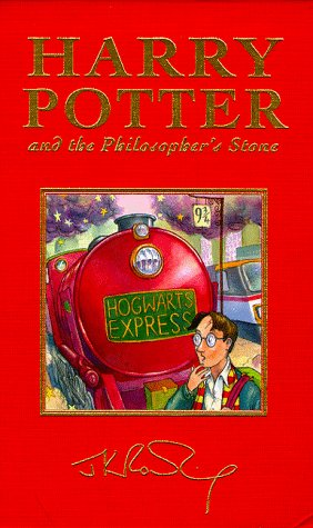 Harry Potter and the Philosopher's Stone Deluxe Cover