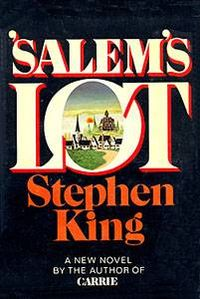 Salem's Lot first editon by Stephen King Front Cover