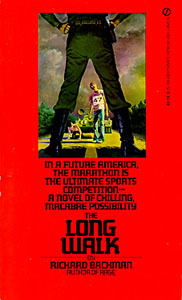 The Long Walk by Richard Bachman First Edition Front Cover
