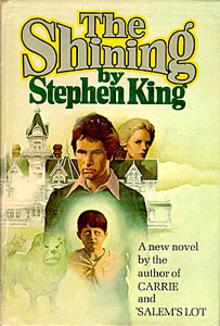 The Shining First Edition Front Cover
