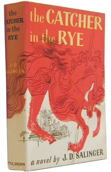 The Catcher and the Rye First Edition Cover and Spine